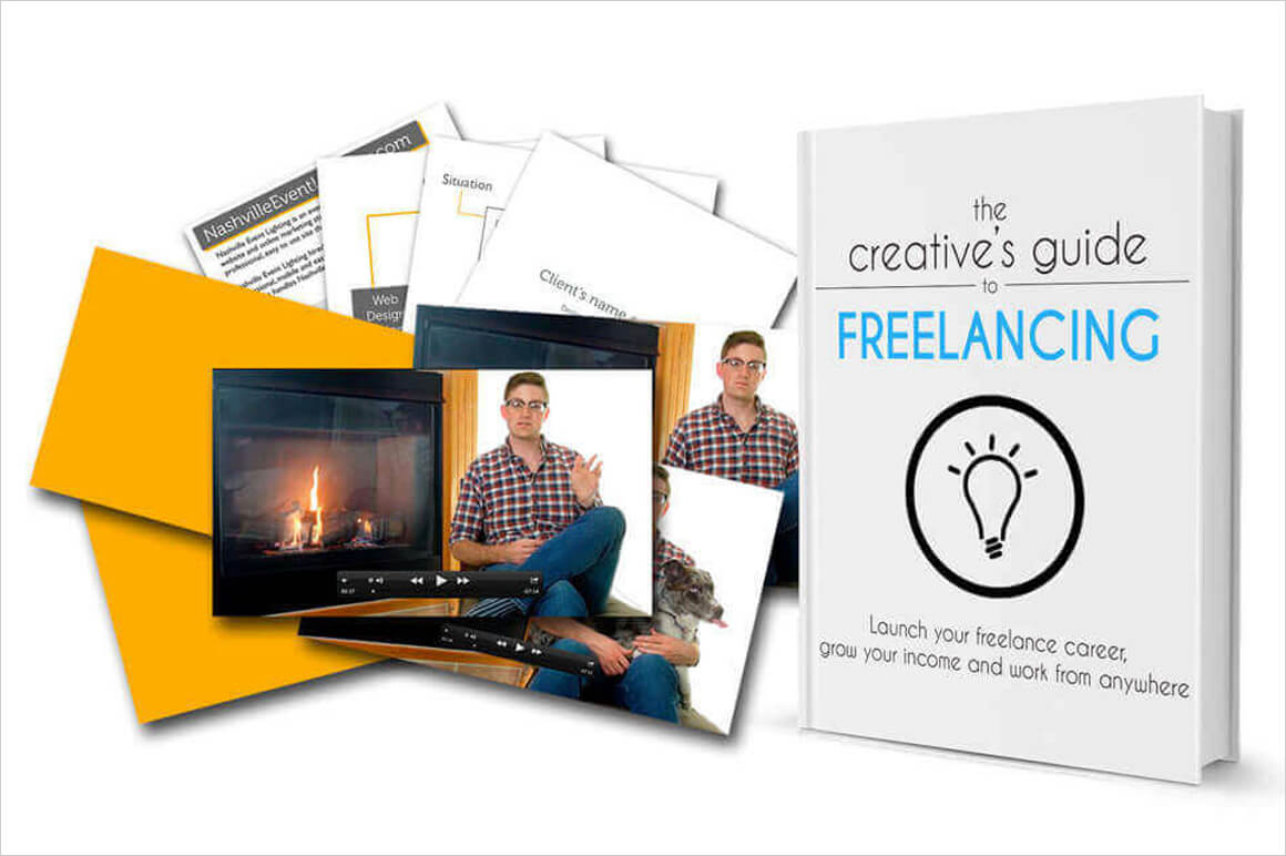 eBook: The Creative's Guide to Freelancing by Jake Jorgovan - $12!