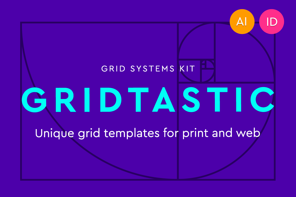 Gridtastic Grid Kit of 30 Grid Systems, 180 Templates - only $7.50!