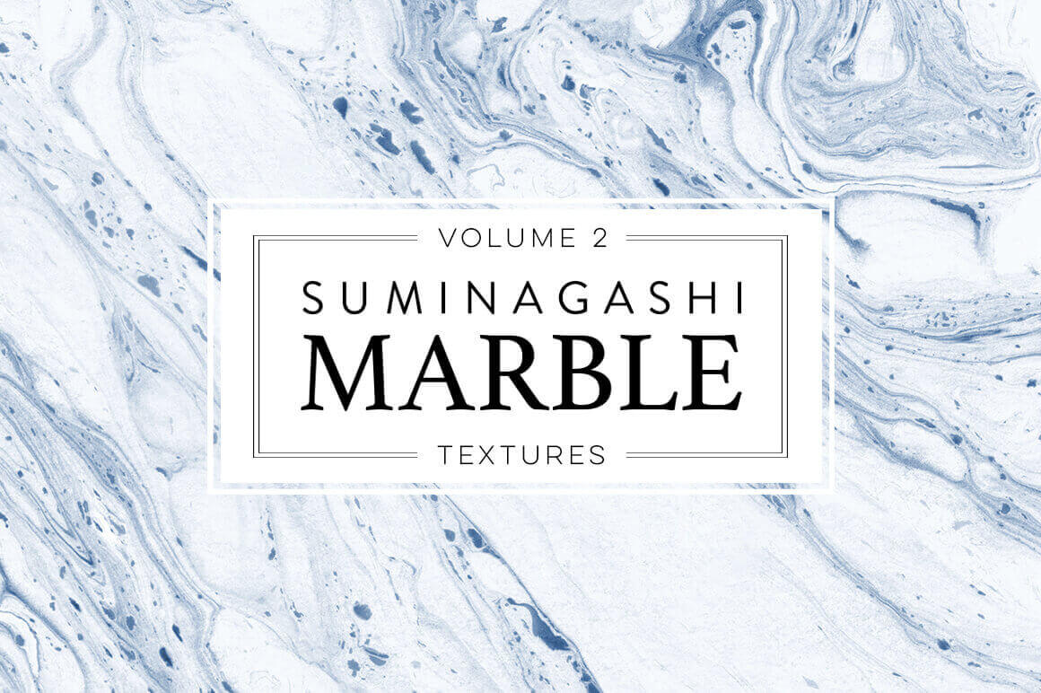 90 Beautiful Marble Paper Textures with Extended License - only $14!