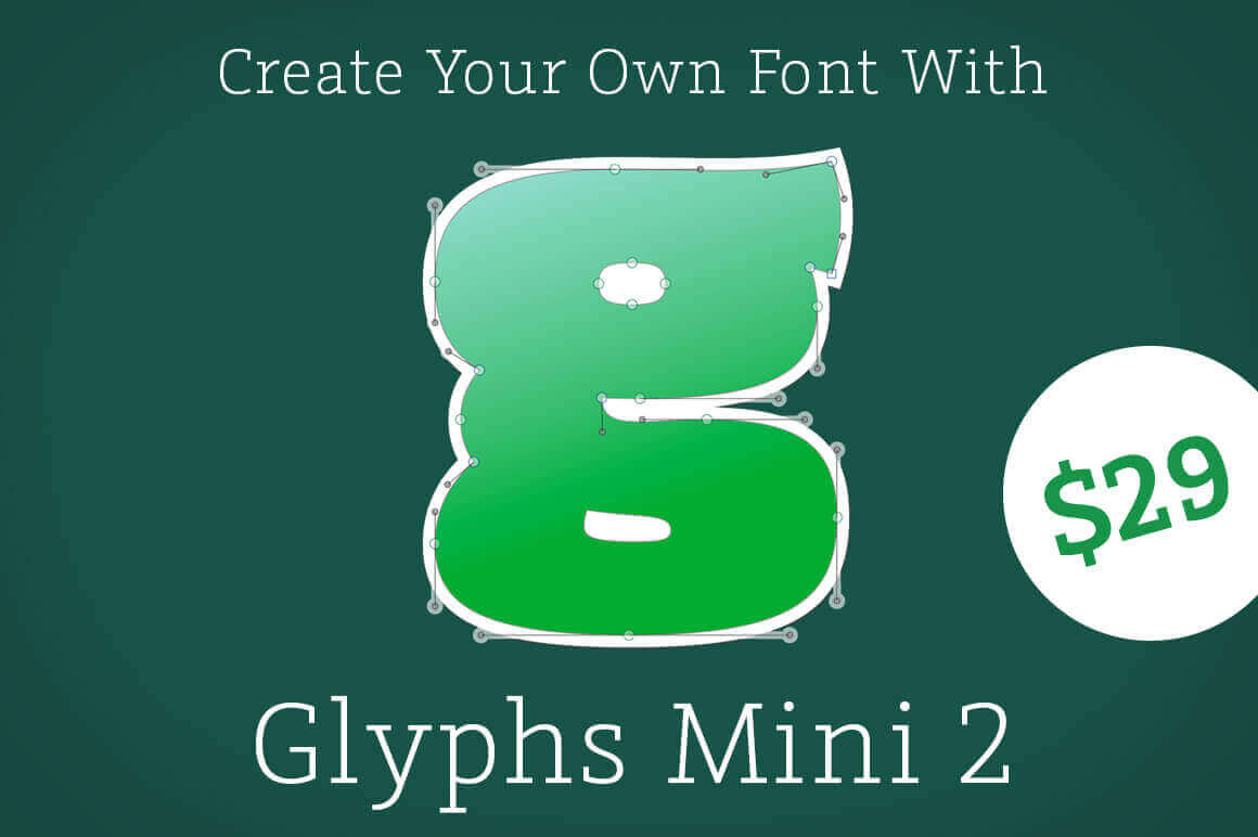 Create your own fonts with glyphs mini 2 for mac only 29 take total control of your typefaces with glyphs mini 2 for mac this easy lightweight and affordable app lets you turn your vectors into fonts fandeluxe Images