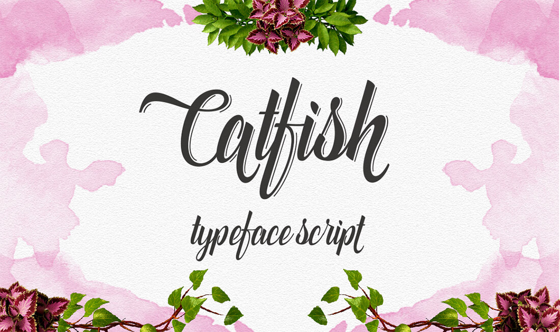 10 Modern Hand Drawn Calligraphy Script Fonts Only 24