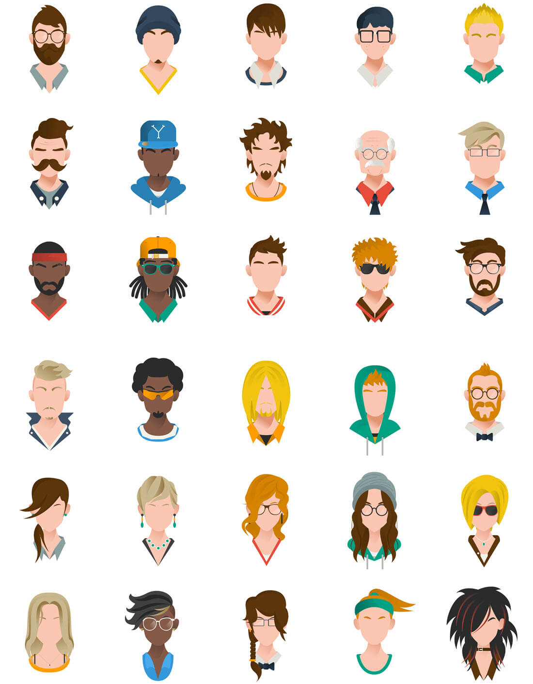 Add Serious Fun with 125+ Colorful Characters and Avatars ...