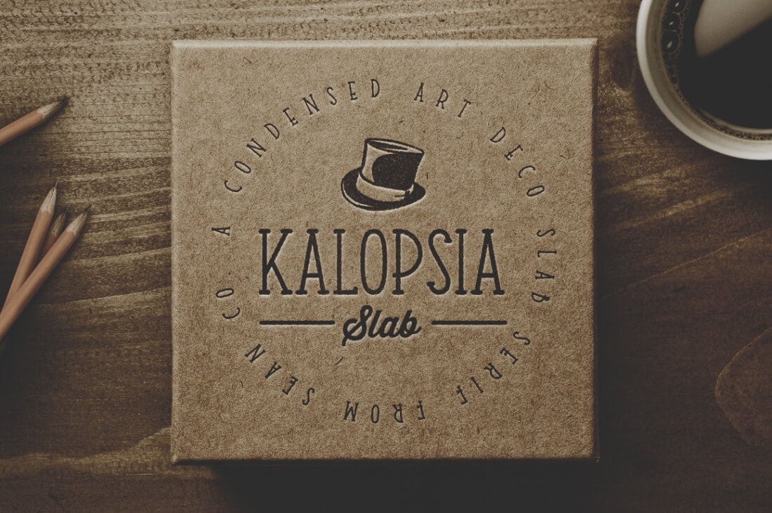 A Condensed Slab Serif Family Kalopsia Features Friendly Round Slabs With Touch Of Modernism All Delivered In 3 Different Weights Light
