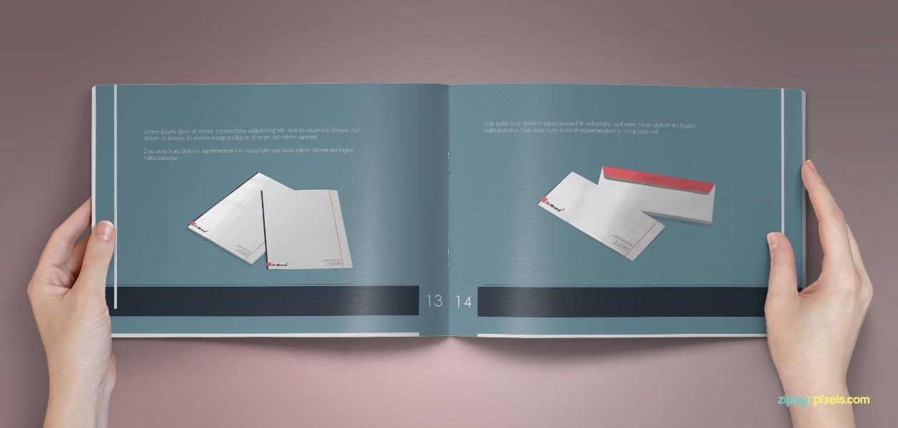 12 Brand Book 8 Letterhead Envelope