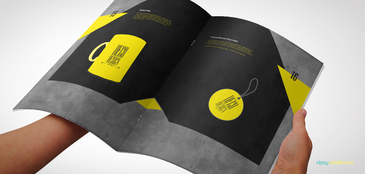 12 Brand Book 7 Printed Mug Promotional Keychain