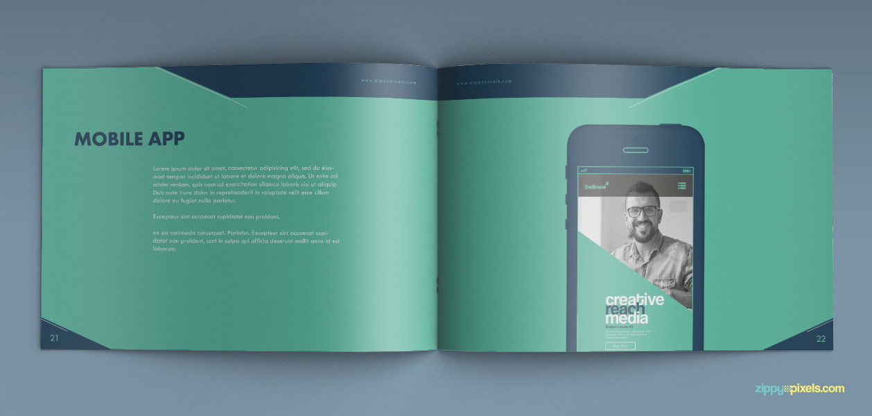 15 Brand Book 5 Mobile Application