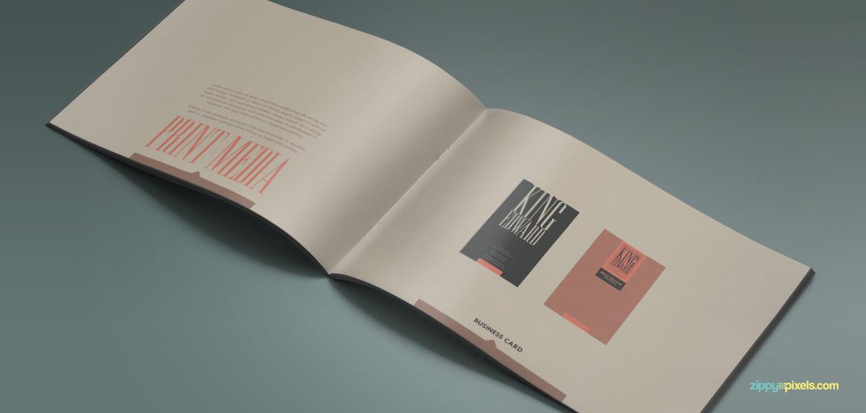 10 Brand Book 2 Print Media