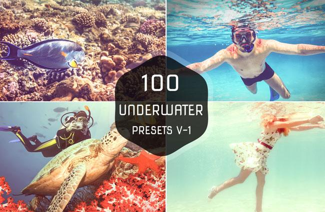 100 Underwater Lightroom Presets 1