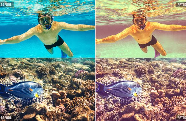 100 Underwater Lightroom Presets 3