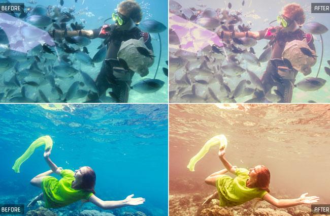 100 Underwater Lightroom Presets 5