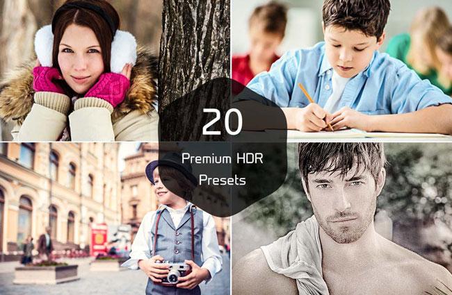 20 HDR Pro Lightroom Presets 1