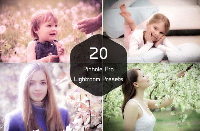 20 Pinhole Pro Lightroom Presets 1