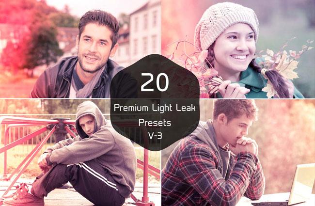 20 Premium Light Leak Presets V 3 1