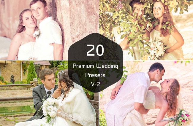 20 Wedding Photography Pro Presets V 2 1