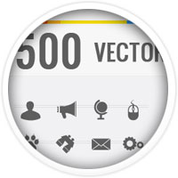 The Big 6 Bundle: Vectors, Stock Images, Icons and More   99% OFF!
