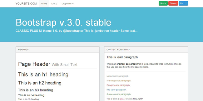 Deal of the week: 22 quality Bootstrap 3.0. themes