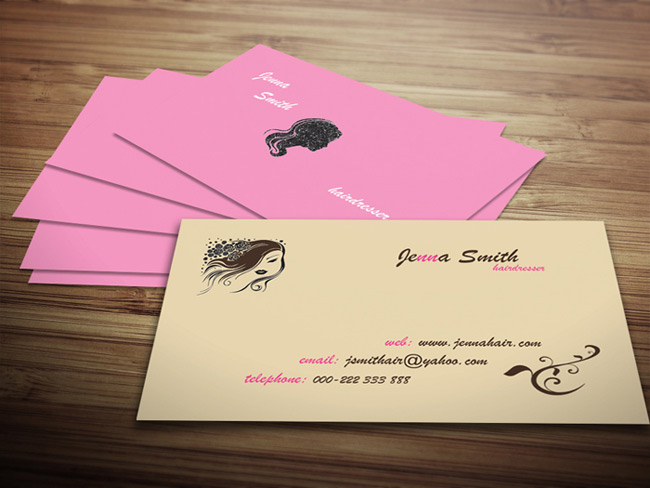 Last day 40 ready to print business card templates only for Hairdresser business card templates