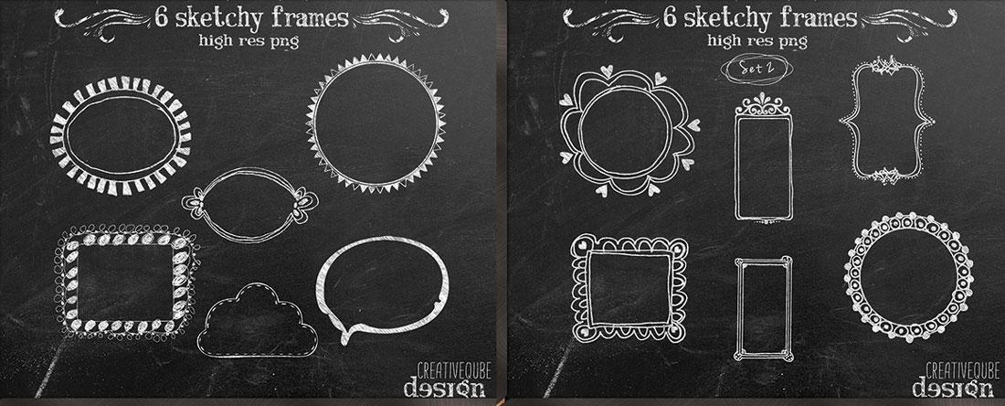 19-Sketchy-Frames-Collage
