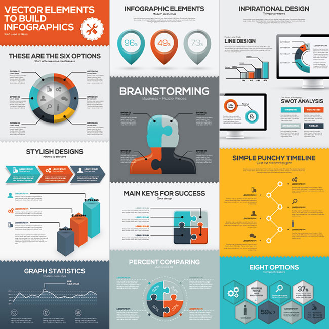 11 Brainstorming Business Infographics