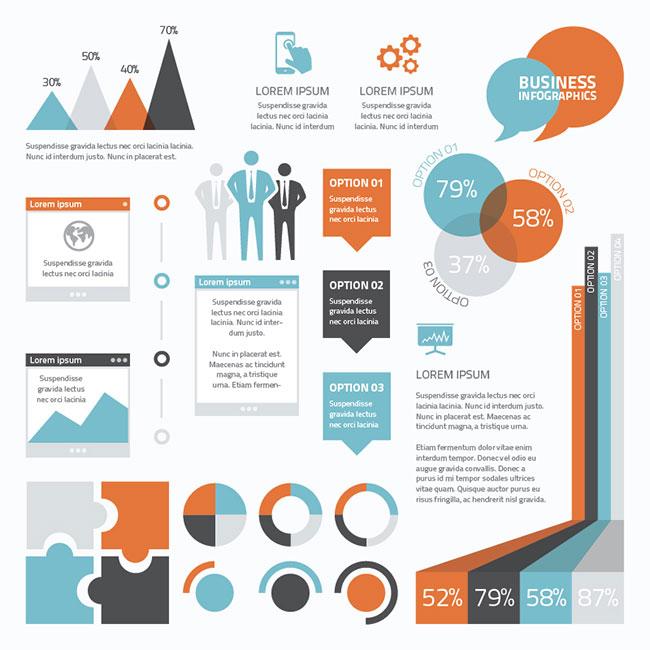 15 Basic Business Infographics