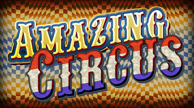 Circus Text Effects