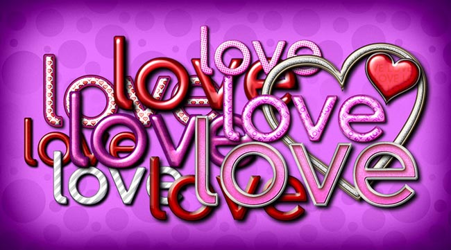 Pink Text Effects