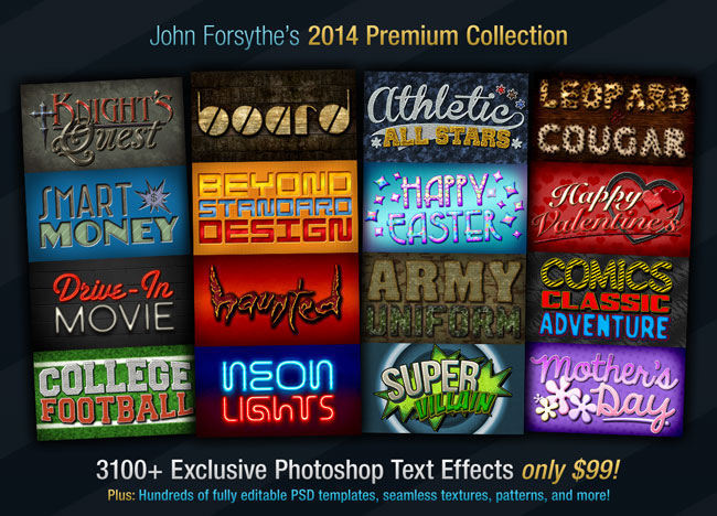 Text Effects 2014