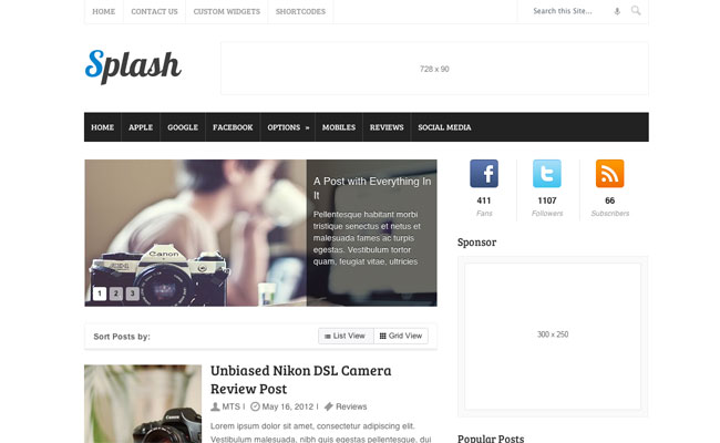 4 Premium, Responsive WordPress Themes   only $21!