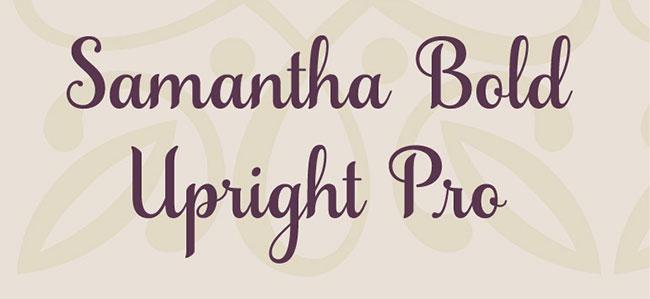 Samantha Bold Upright