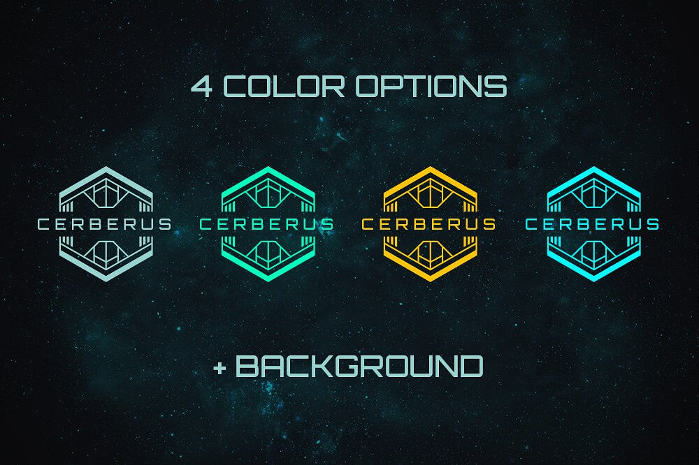 Sci Fi Bundle Space Fonts Backgrounds Logos Ui Kit