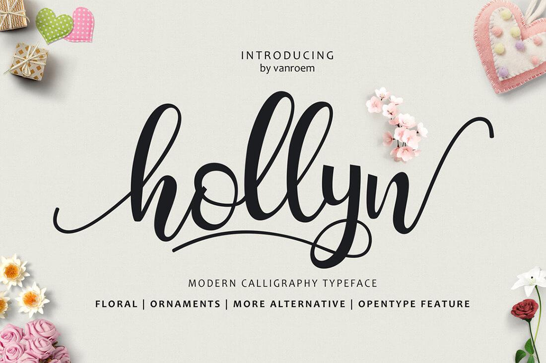 9 beautiful handwritten modern script fonts only 17 Modern script font