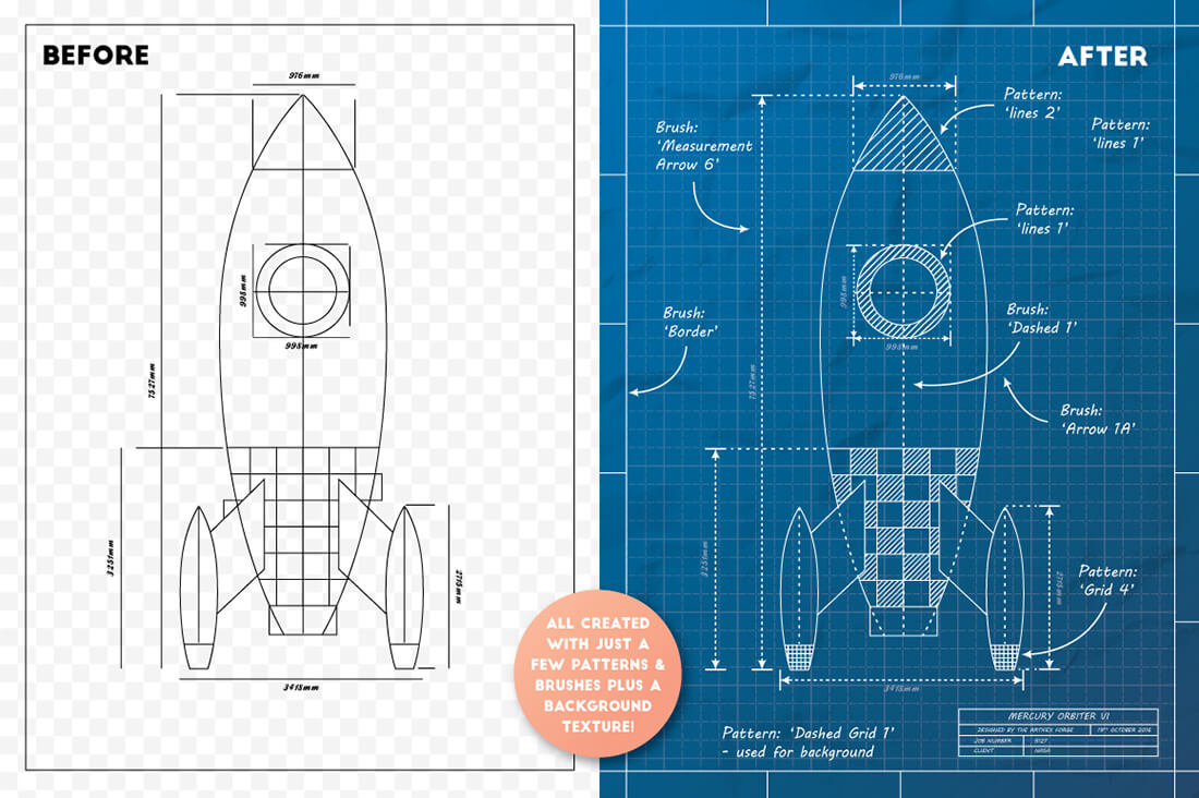 Last chance the complete vector blueprint kit from the artifex previews malvernweather Gallery