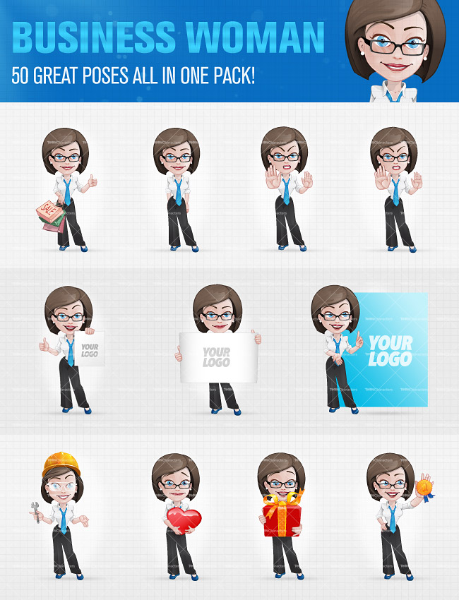 10 Cartoon Characters in 400+ poses   only $24!