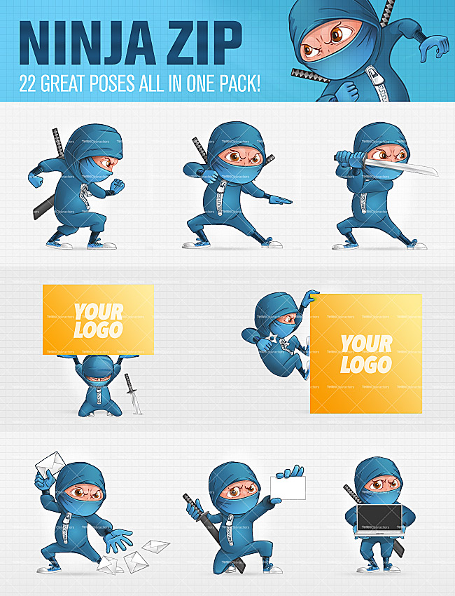 LAST DAY: 10 Cartoon Characters in 400+ poses   only $24