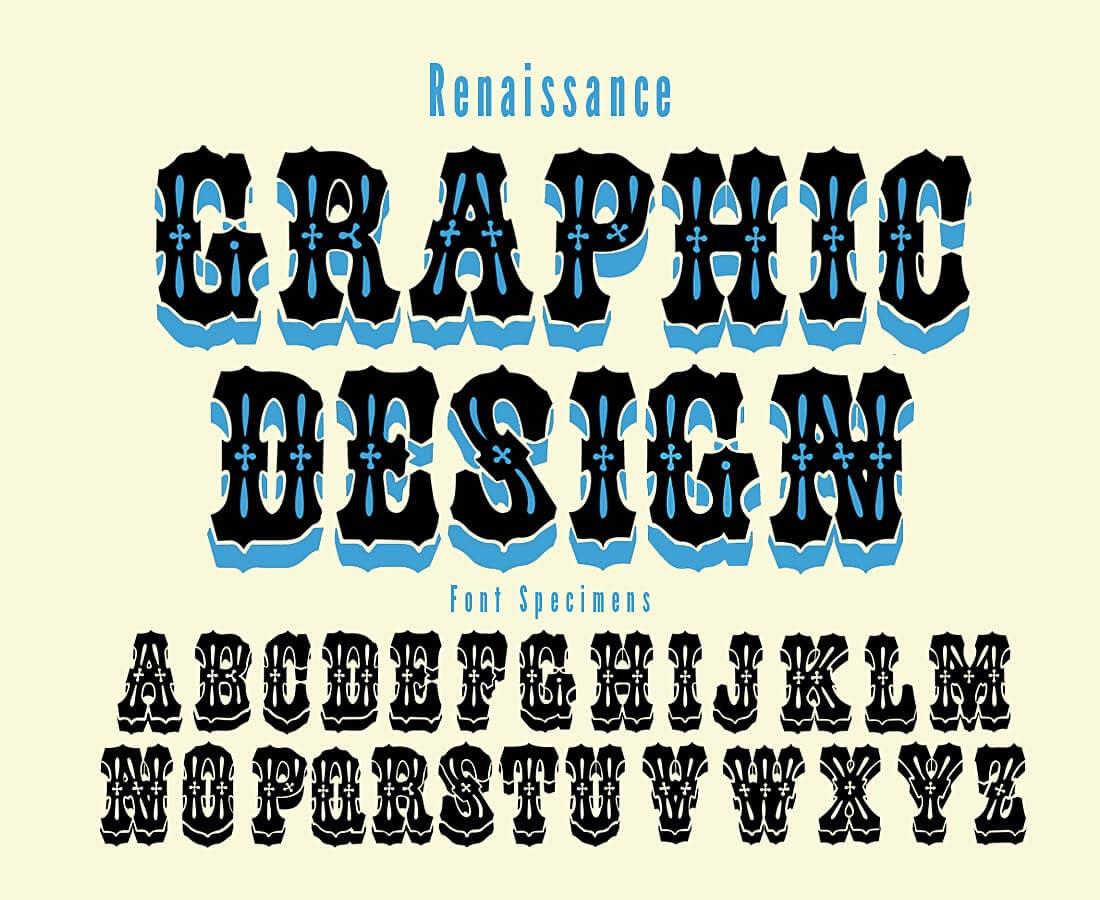 ultrashock-renaissance-vector-font