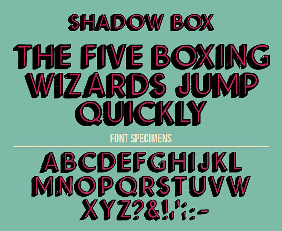 ultrashock-shadow-box-vector-font