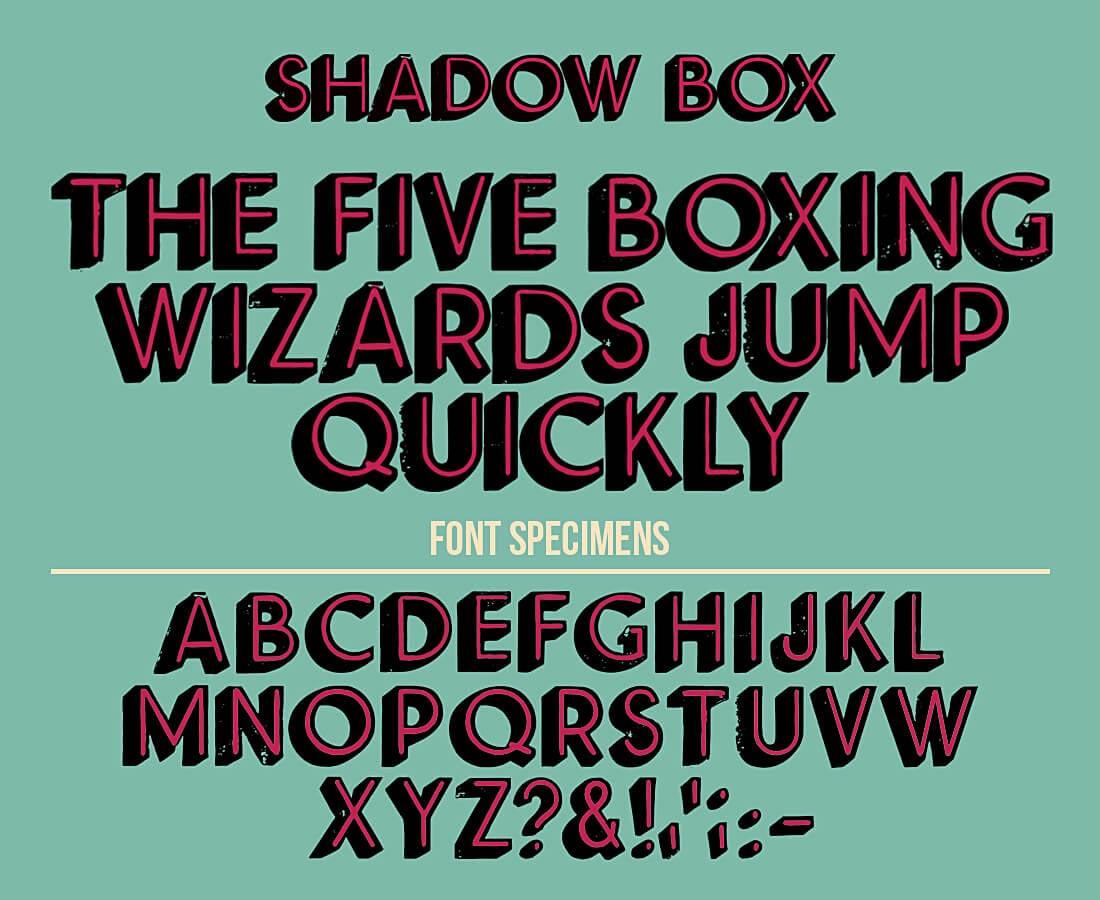 ultrashock-shadow-box-vector-font