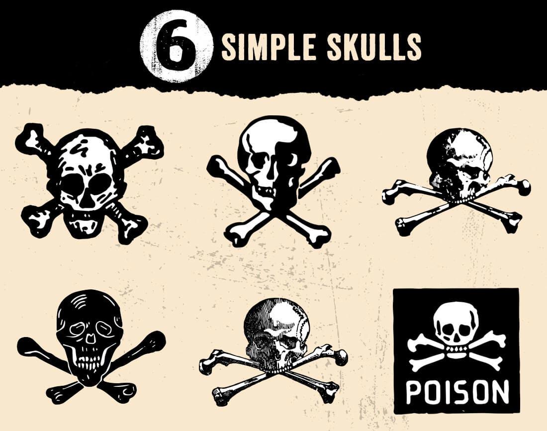 ultrashock-simple-skulls