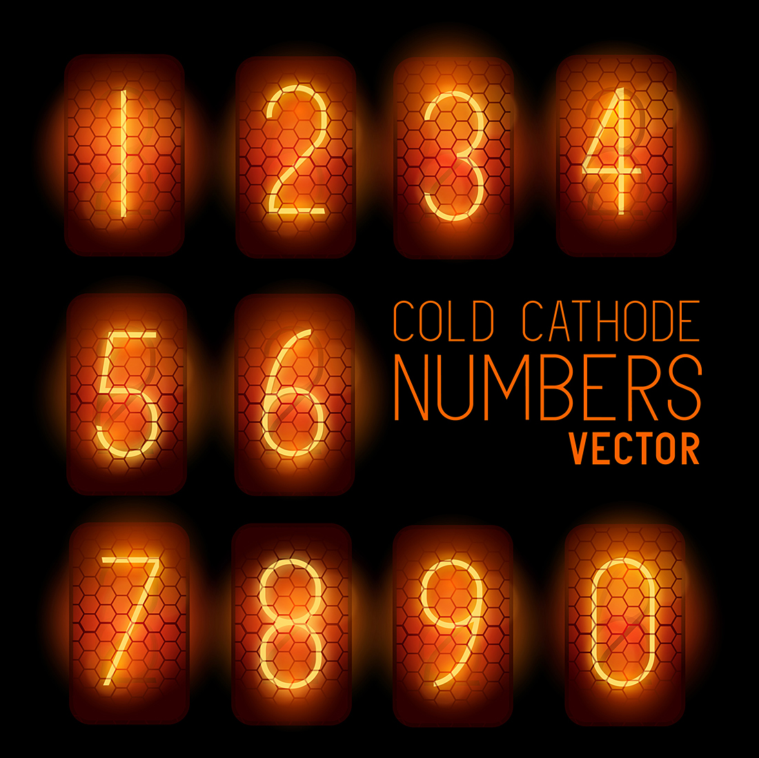 solarseven-cold-cathode-numbers