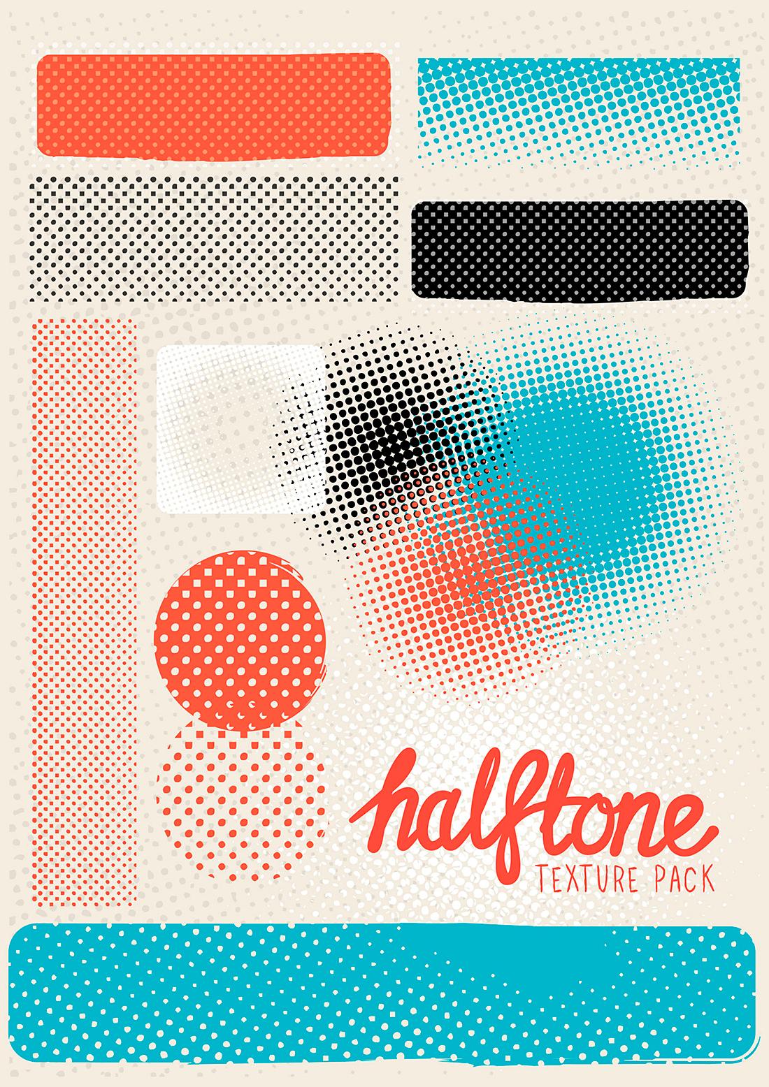 solarseven-halftone-texture-pack
