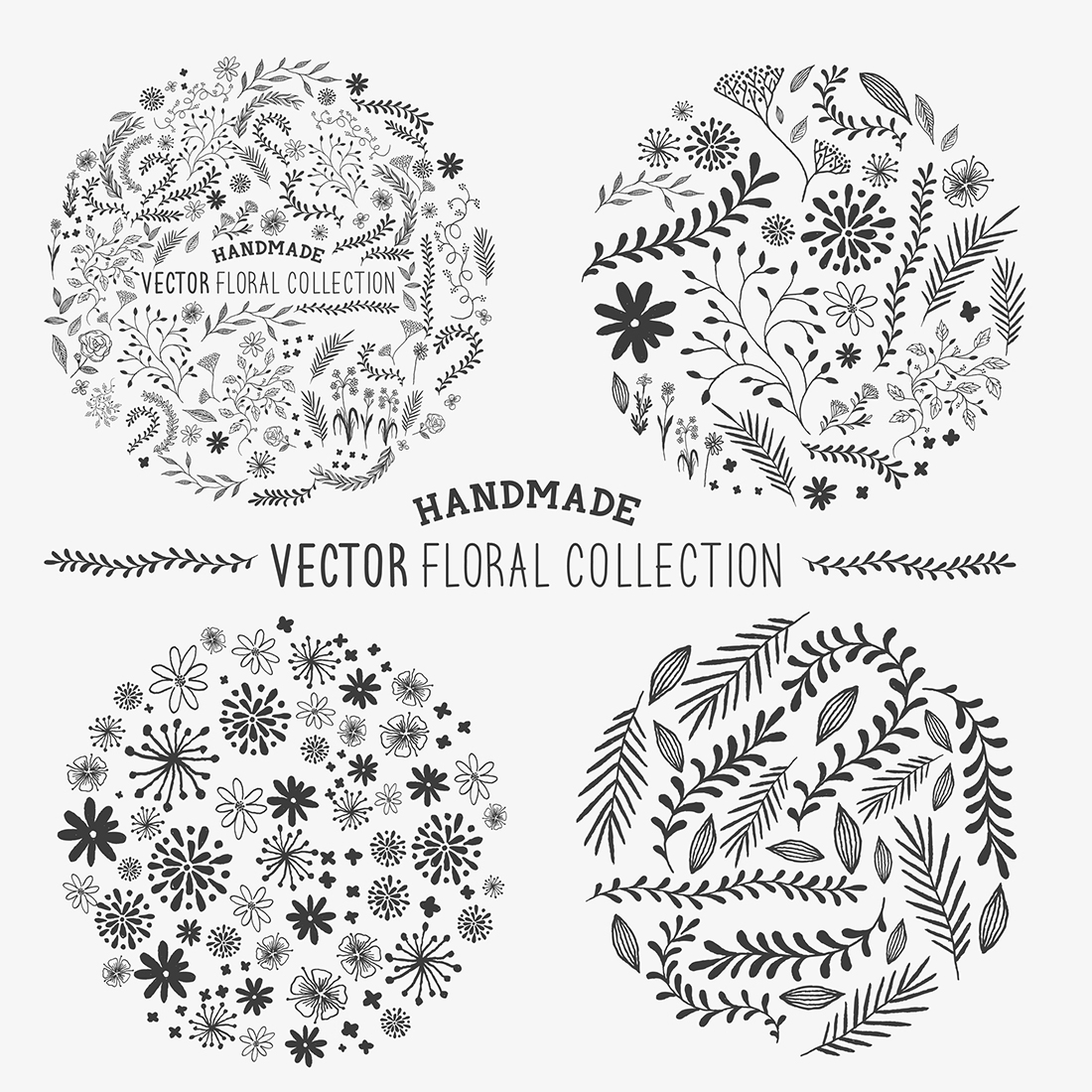 solarseven-vector-floral-collection