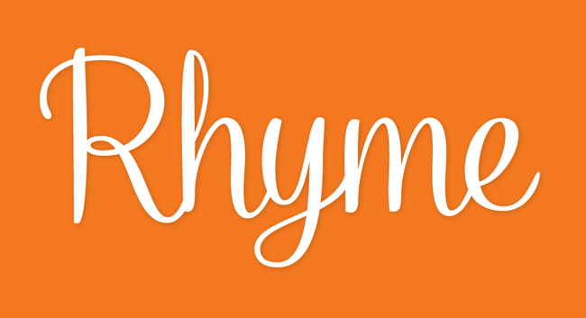 Rhyme Poster01