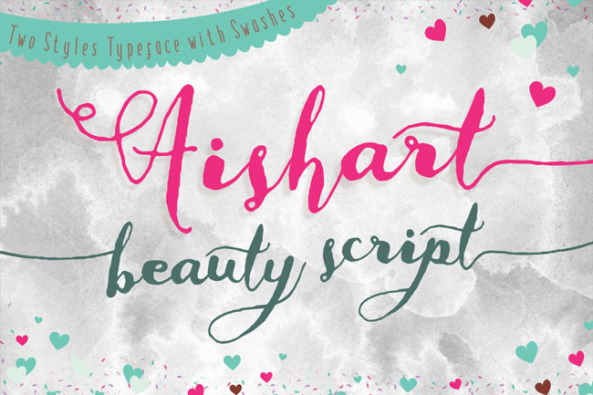 Aishart Font