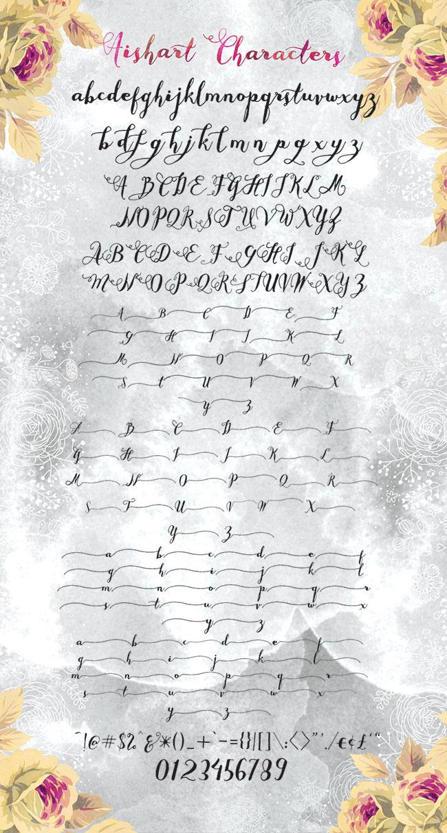 Aishart Preview Alphabet