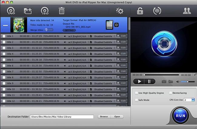 Dvd To iPad Mac