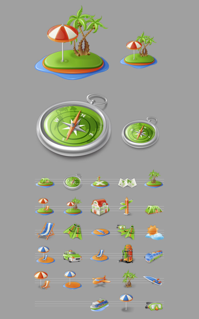 Itravel Travel Iconset