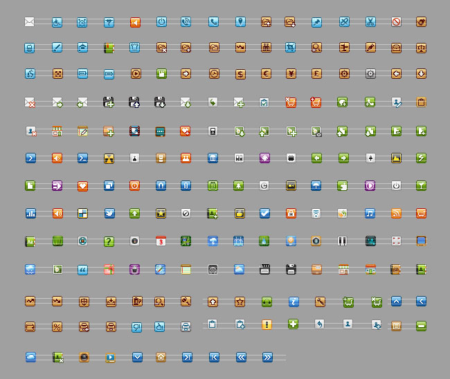 Tiny Pixel Icons