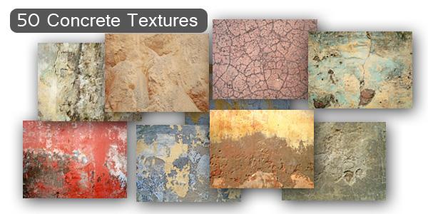 Concrete Textures Set