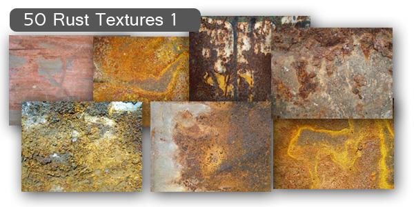 Rust Textures Set