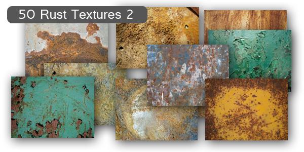 Rust Textures Set2